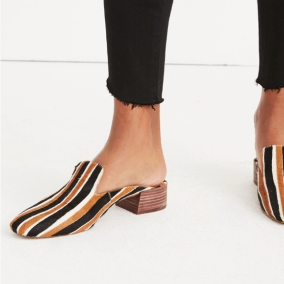 052688b8afd  LAST CHANCE  MADEWELL - NWT Willa Mule - Stripes
